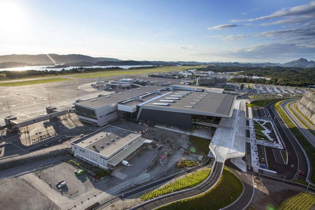 Bergen Lufthavn, Flesland. Foto: Varde / Avinor